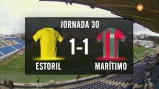 I Liga (30ªJ): Resumo Estoril Praia 1-1 Marítimo M.