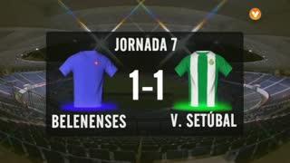I Liga (7ªJ): Resumo Belenenses 1-1 Vitória FC