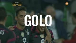 GOLO! SL Benfica, Salvio aos 18', Marítimo M. 0-1 SL Benfica