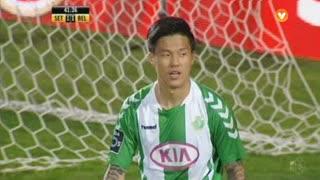 Vitória FC, Jogada, Hyun-Jun Suk aos 42'