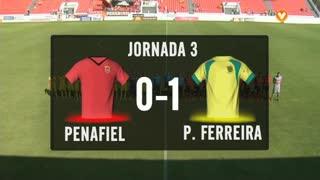I Liga (3ªJ): Resumo FC Penafiel 0-1 FC P.Ferreira