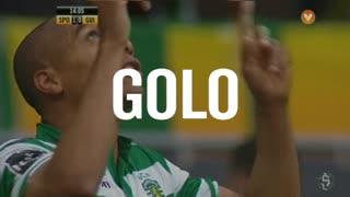 GOLO! Sporting CP, João Mário aos 14', Sporting CP 1-0 Vitória SC