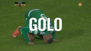 GOLO! Sporting CP, Slimani aos 62', Sporting CP 1-0 Vitória FC