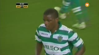 Sporting, Jogada, William aos 82'