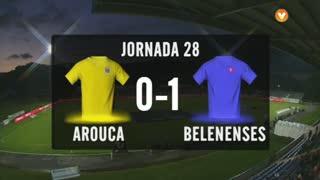I Liga (28ªJ): Resumo FC Arouca 0-1 Belenenses