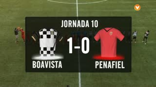 I Liga (10ªJ): Resumo Boavista FC 1-0 FC Penafiel