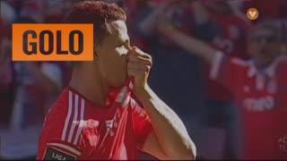 GOLO! SL Benfica, Lima aos 6', SL Benfica 1-0 Marítimo M.