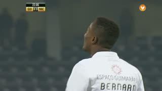 Vitória SC, Jogada, Bernard aos 22'