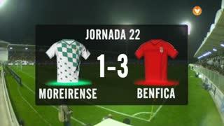 I Liga (22ªJ): Resumo Moreirense FC 1-3 SL Benfica
