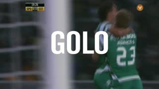 Sporting, Adrien Silva aos 20', Sporting 1-0 Estoril