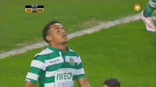 Sporting CP, Jogada, Carrillo aos 26'