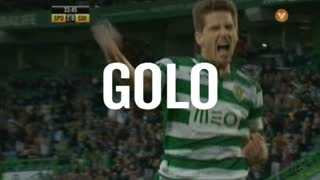 GOLO! Sporting CP, Adrien Silva aos 34', Sporting CP 2-0 Vitória SC