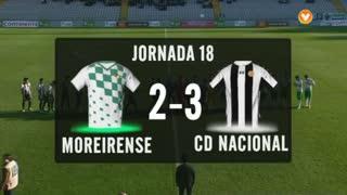 I Liga (18ªJ): Resumo Moreirense FC 2-3 CD Nacional