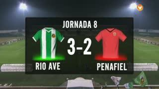 I Liga (8ªJ): Resumo Rio Ave FC 3-2 FC Penafiel