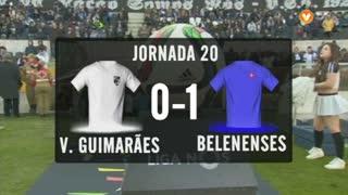 I Liga (20ªJ): Resumo Vitória SC 0-1 Belenenses