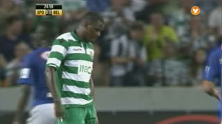 Sporting, Jogada, William aos 25'
