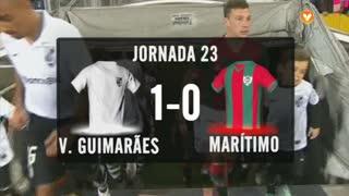 I Liga (23ªJ): Resumo Vitória SC 1-0 Marítimo M.