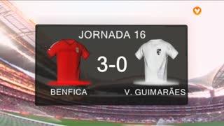 I Liga (16ªJ): Resumo SL Benfica 3-0 Vitória SC