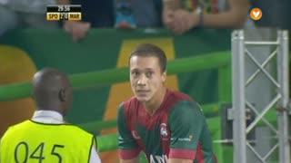Marítimo M., Jogada, Alex Soares aos 30'