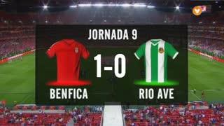 I Liga (9ªJ): Resumo SL Benfica 1-0 Rio Ave FC