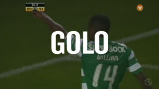 Sporting, William aos 5', Sporting 1-0 Penafiel