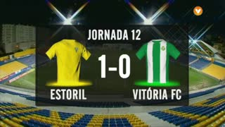 I Liga (12ªJ): Resumo Estoril Praia 1-0 Vitória FC