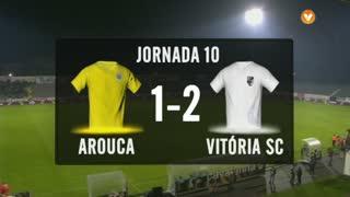 I Liga (10ªJ): Resumo FC Arouca 1-2 Vitória SC