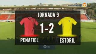 I Liga (9ªJ): Resumo FC Penafiel 1-2 Estoril Praia