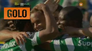 Sporting, Ewerton aos 55', Estoril 1-1 Sporting