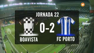I Liga (22ªJ): Resumo Boavista FC 0-2 FC Porto