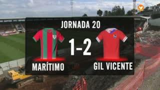 I Liga (20ªJ): Resumo Marítimo M. 1-2 Gil Vicente FC