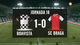 I Liga (18ªJ): Resumo Boavista FC 1-0 SC Braga
