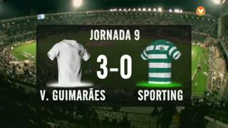 I Liga (9ªJ): Resumo Vitória SC 3-0 Sporting CP