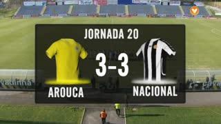 I Liga (20ªJ): Resumo FC Arouca 3-3 CD Nacional