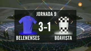 I Liga (9ªJ): Resumo Belenenses 3-1 Boavista FC