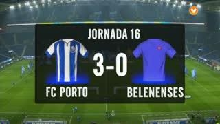 I Liga (16ªJ): Resumo FC Porto 3-0 Belenenses