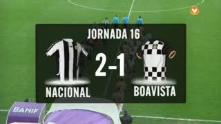 I Liga (16ªJ): Resumo CD Nacional 2-1 Boavista FC