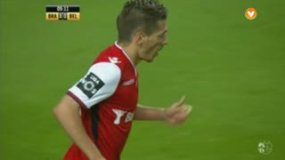 SC Braga, Jogada, Pedro Santos aos 9'