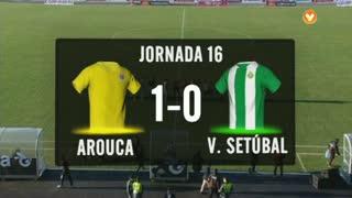 I Liga (16ªJ): Resumo FC Arouca 1-0 Vitória FC
