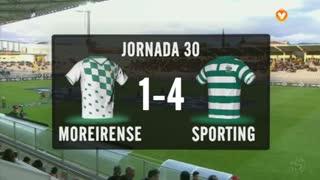 I Liga (30ªJ): Resumo Moreirense FC 1-4 Sporting CP