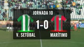 I Liga (10ªJ): Resumo Vitória FC 1-0 Marítimo M.