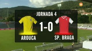 I Liga (4ªJ): Resumo FC Arouca 1-0 SC Braga