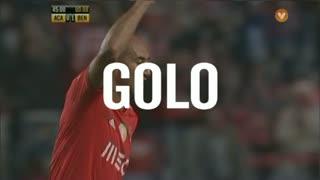 GOLO! SL Benfica, Luisão aos 45', A. Académica 0-2 SL Benfica