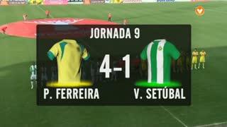 I Liga (9ªJ): Resumo FC P.Ferreira 4-1 Vitória FC