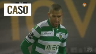 Sporting CP, Jogada, Slimani aos 2'