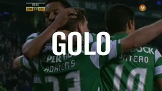 Sporting, Adrien Silva aos 85', Sporting 3-0 Estoril