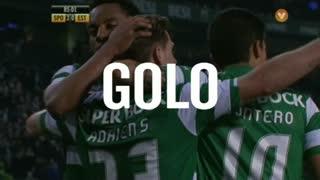 GOLO! Sporting CP, Adrien Silva aos 85', Sporting CP 3-0 Estoril Praia