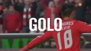 GOLO! SL Benfica, Salvio aos 26', SL Benfica 2-0 Estoril Praia