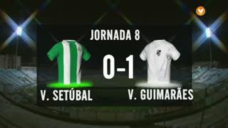 I Liga (8ªJ): Resumo Vitória FC 0-1 Vitória SC