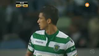 Sporting CP, Jogada, Montero aos 39'